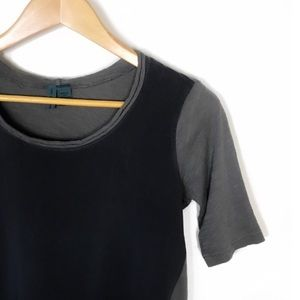 """Anthropologie """"Left Of Center"""" Two Tone Top Size S"""